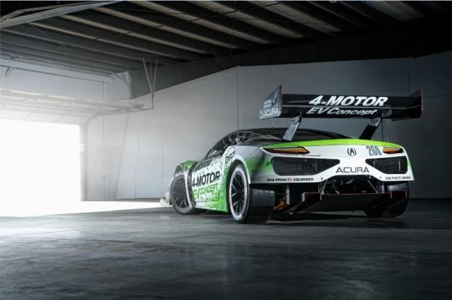 Honda 4-Motor EV Concept: Así es el NSX eléctrico que veremos en la subida al Pikes Peak 2