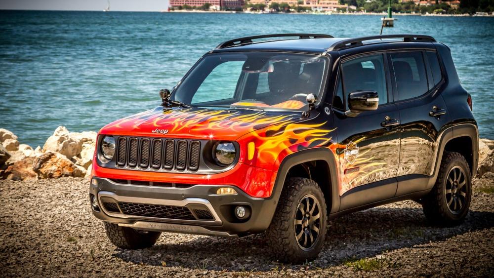 Jeep Renegade Hell's Revenge: Un one-off creado con Harley-Davidson 1