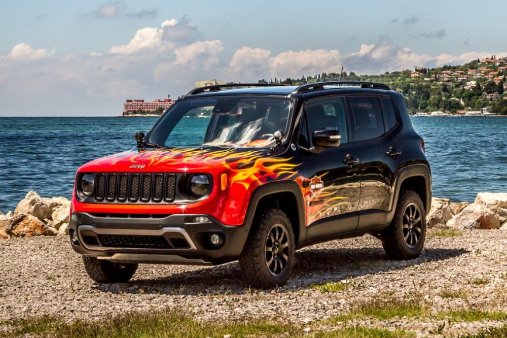 Jeep Renegade Hell's Revenge: Un one-off creado con Harley-Davidson 2