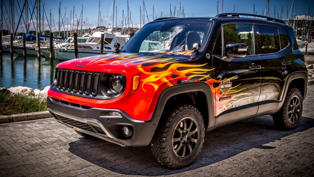 Jeep Renegade Hell's Revenge: Un one-off creado con Harley-Davidson 3