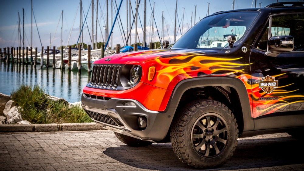 Jeep Renegade Hell's Revenge: Un one-off creado con Harley-Davidson 4