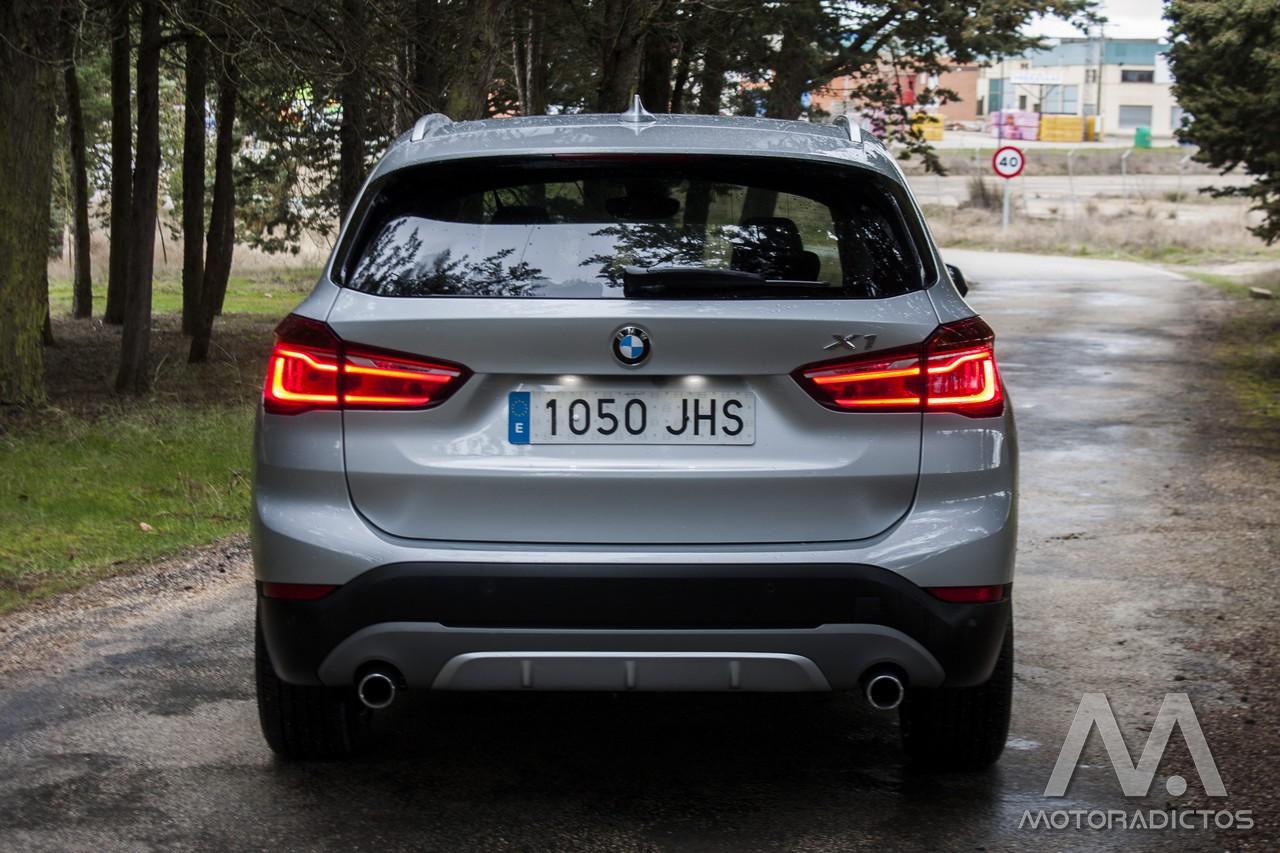 Prueba: BMW X1 25d xDrive (diseño, habitáculo, mecánica) 5