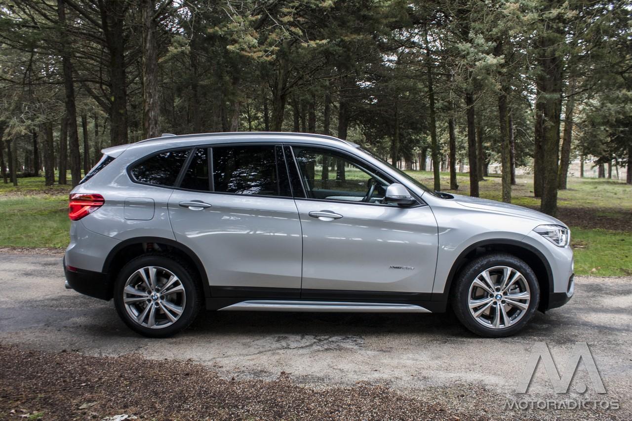 Prueba: BMW X1 25d xDrive (diseño, habitáculo, mecánica) 6