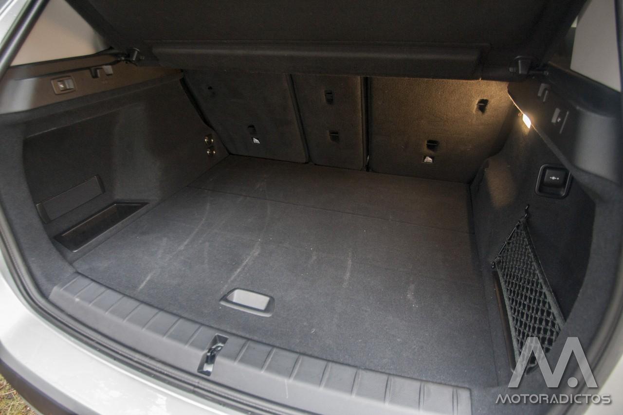 Prueba: BMW X1 25d xDrive (diseño, habitáculo, mecánica) 7