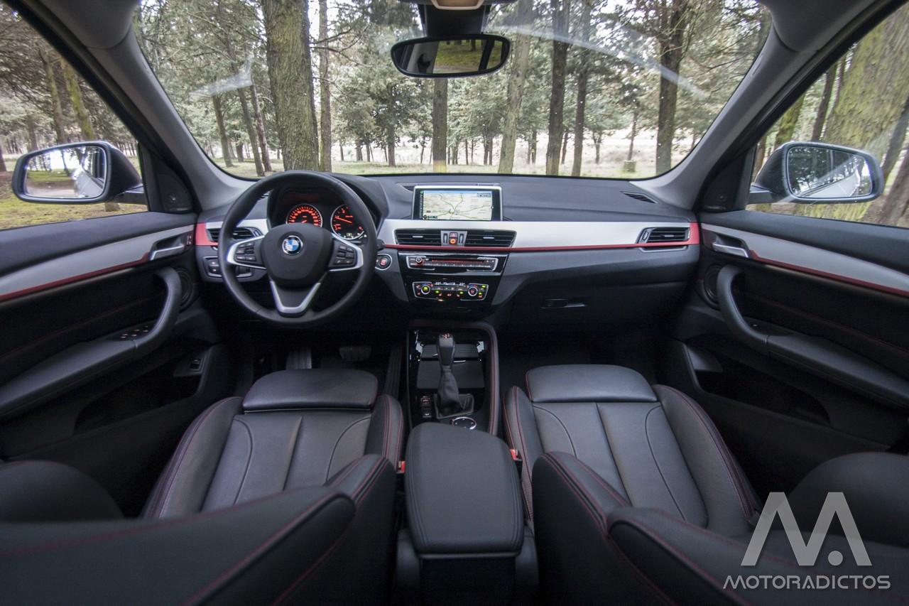 Prueba: BMW X1 25d xDrive (diseño, habitáculo, mecánica) 8