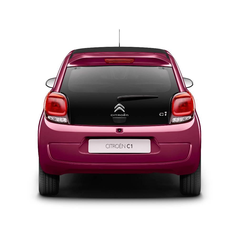 Citroën C1 Feel Edition: Ahora más equipado y con el color de carrocería Jelly Berry Opaco 1