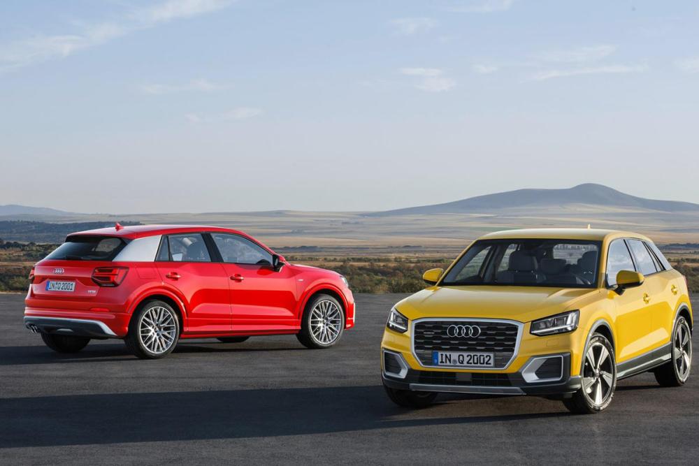 El Audi Q2 partirá de los 25.950 euros con el motor 1.0 TFSI de 116 CV 1