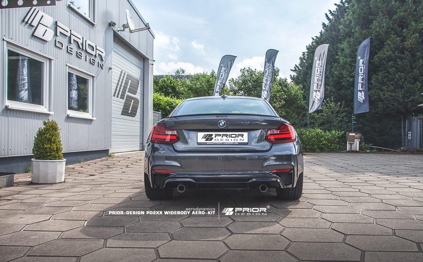 Engordar estéticamente tu BMW Serie 2 es posible gracias al kit PD2XX de Prior Design 1
