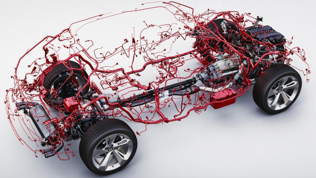 ¿Quieres ver cómo es el cableado completo de un Bentley Bentayga? 2