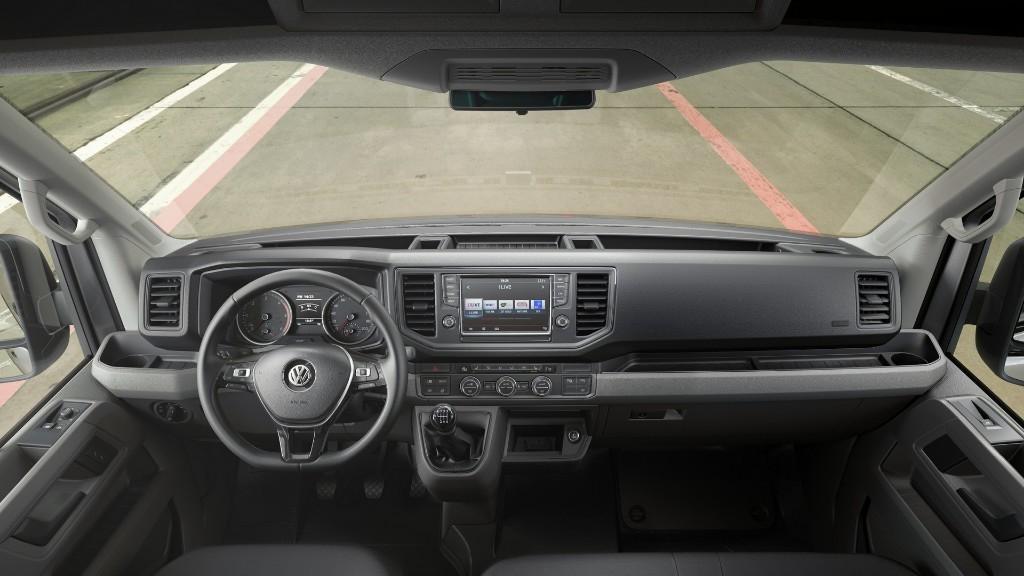 Volkswagen Crafter 2017: Así luce la nueva generación del comercial con tracción delantera 2