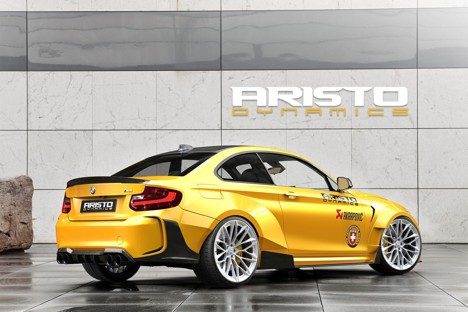 Aristo Dynamics BMW M2 Coupé: Tremendamente radical y hecho en España... 2