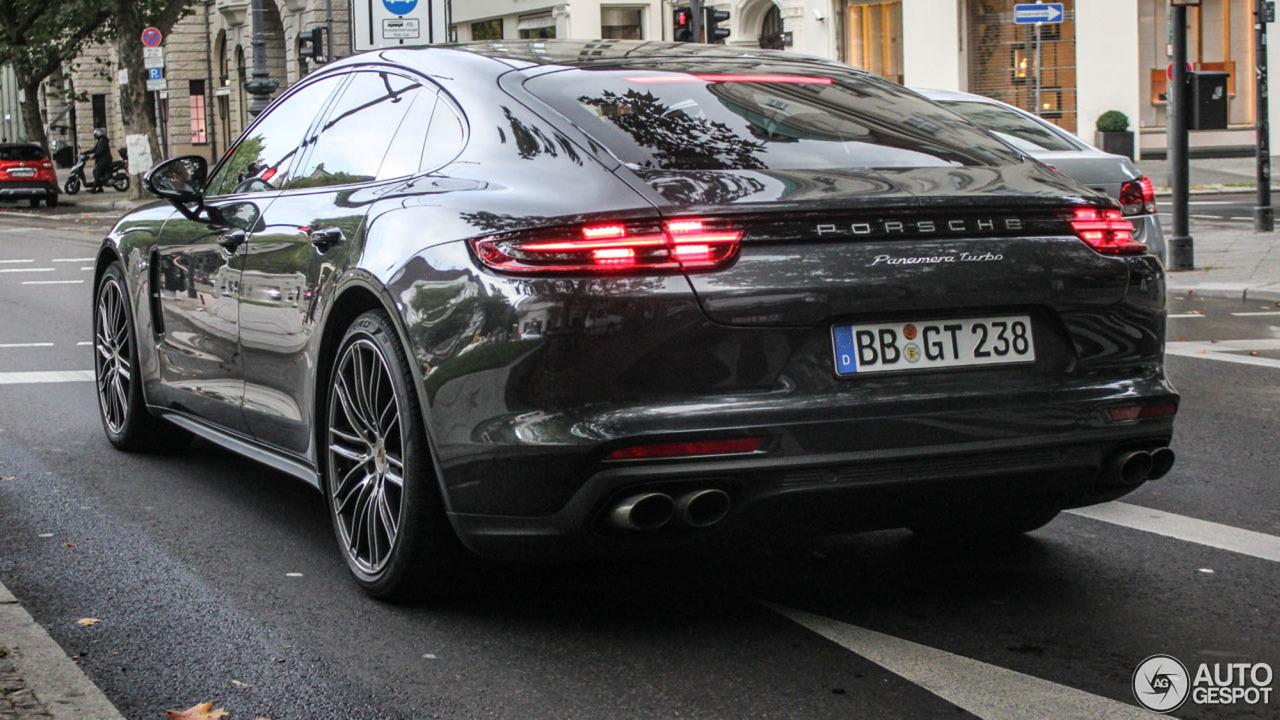 Así luce el nuevo Porsche Panamera Turbo al natural 1