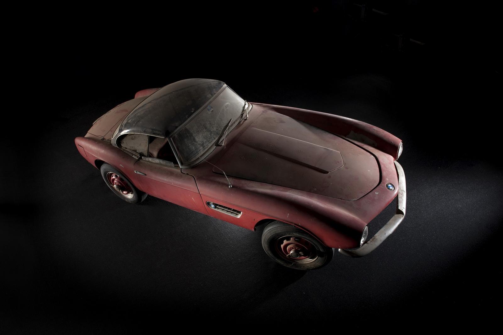 El BMW 507 Roadster de Elvis Presley vuelve a sus días de gloria en Pebble Beach 1