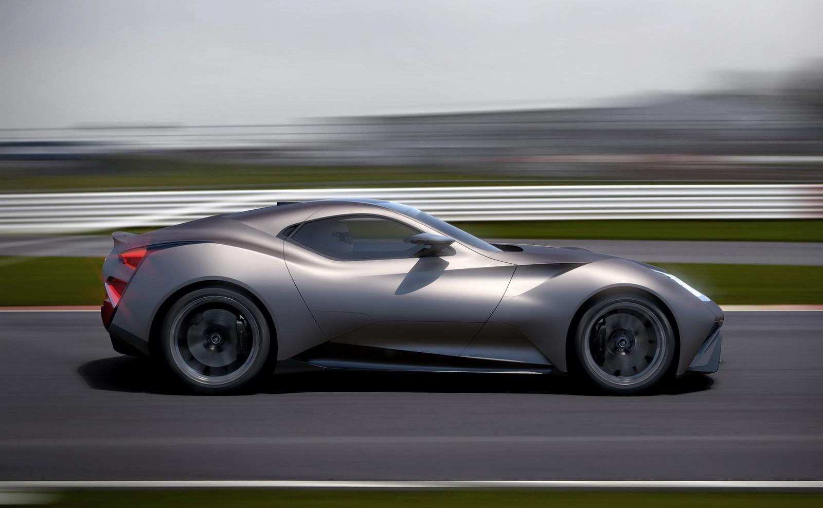 Icona Vulcano: 2,45 millones de euros cuesta el primer coche fabricado en titanio del mundo 2