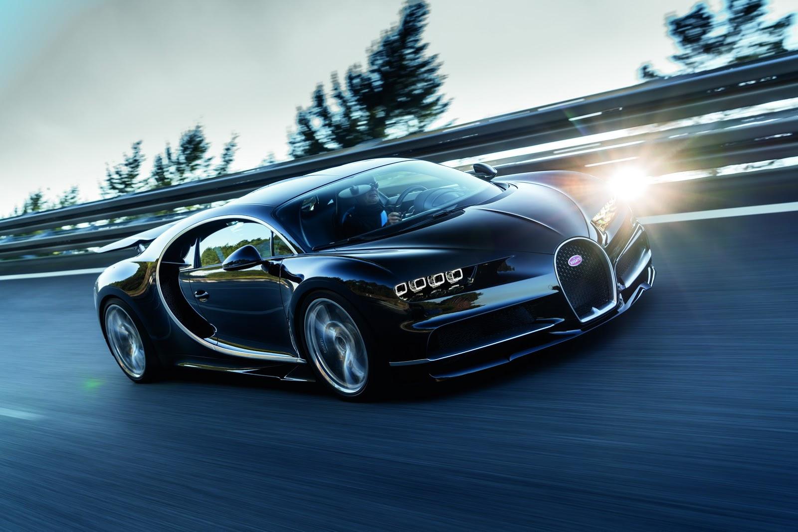 El futuro del Bugatti Chiron: híbrido y berlina