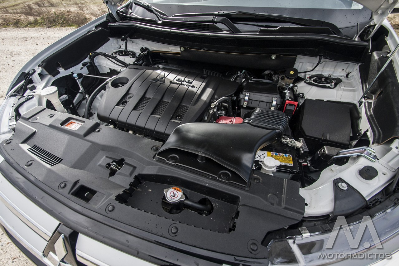 Prueba: Mitsubishi Outlander 220 DI-D 150 CV 2WD (diseño, habitáculo, mecánica) 15