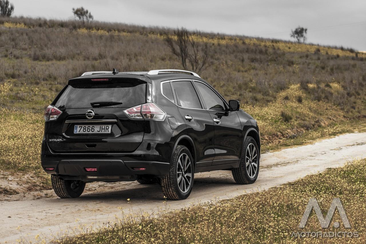 Prueba: Nissan X-Trail DIG-T 163 CV 4x2 Tekna (diseño, habitáculo, mecánica) 16