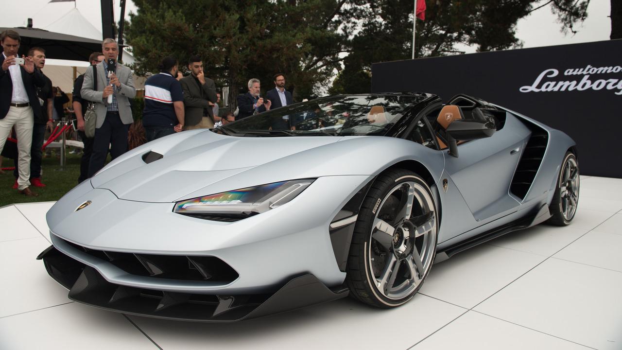 Un primer vistazo al Lamborghini Centenario Roadster 2