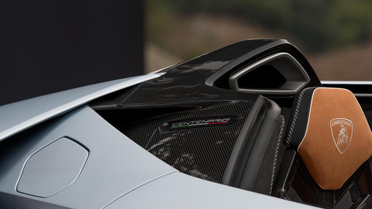 Un primer vistazo al Lamborghini Centenario Roadster 3