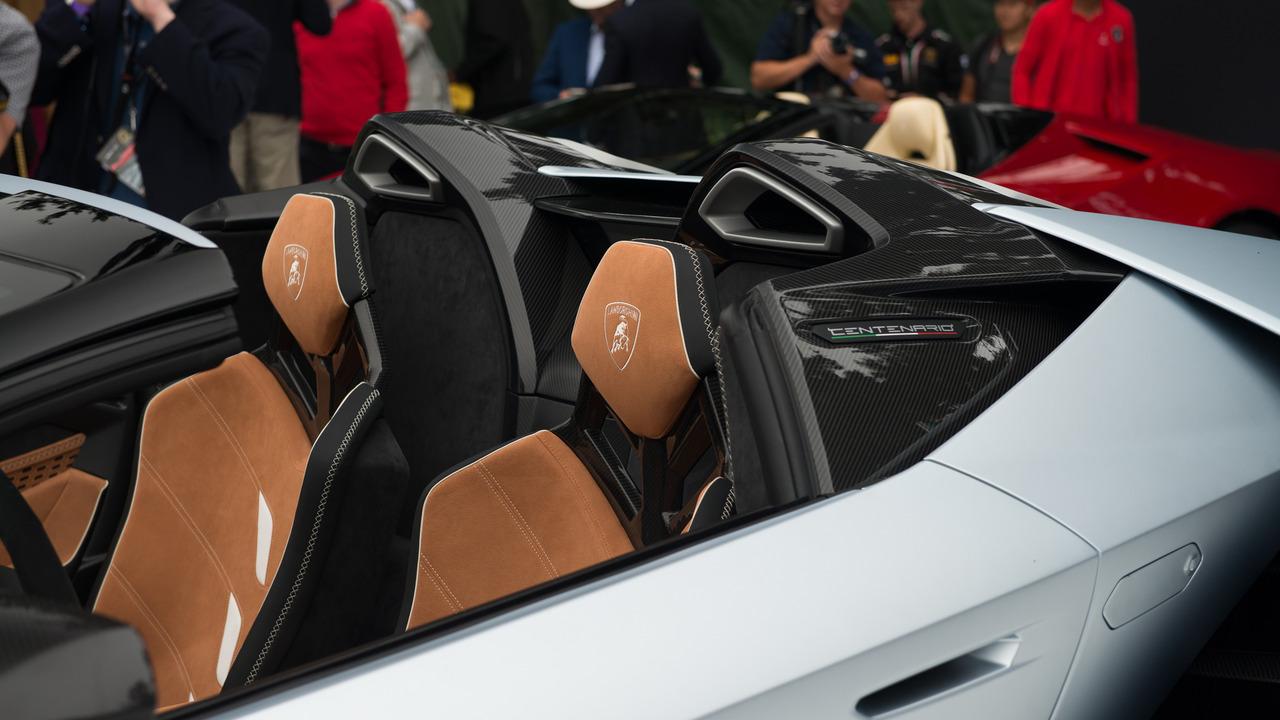 Un primer vistazo al Lamborghini Centenario Roadster 4