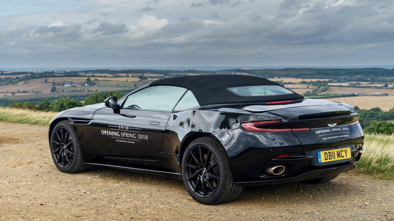 El Aston Martin DB11 Volante llegará a finales de 2017, nueva ainformación