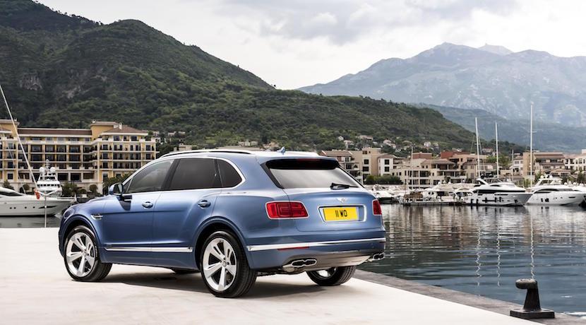 ¿Cuál es el SUV diésel más rápido del mundo? El Bentley Bentayga 2