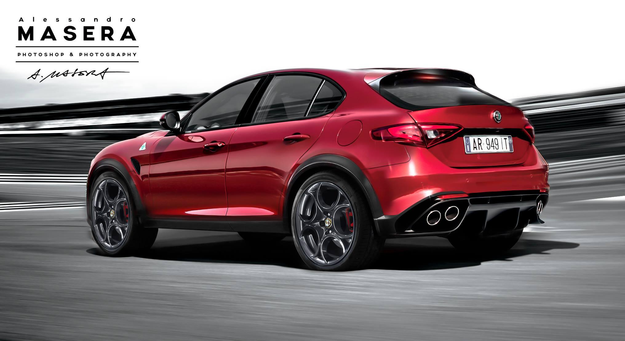 El Alfa Romeo Stelvio estará en Los Ángeles, arrancará las ventas este mismo año 1