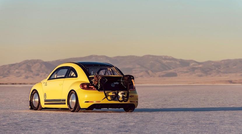 El Volkswagen Beetle LSR que alcanza 328 km/h: El escarabajo que vuela bajo 3