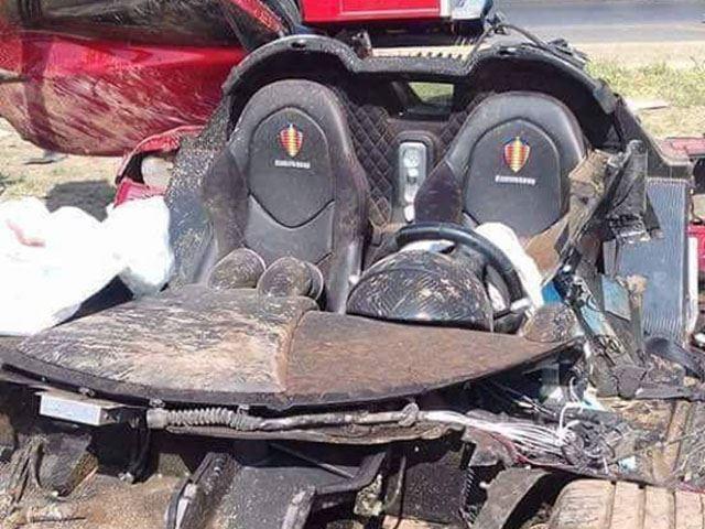 Espectacular accidente de un Koenigsegg CCX Custom Vision valorado en 1,2 millones de euros 2