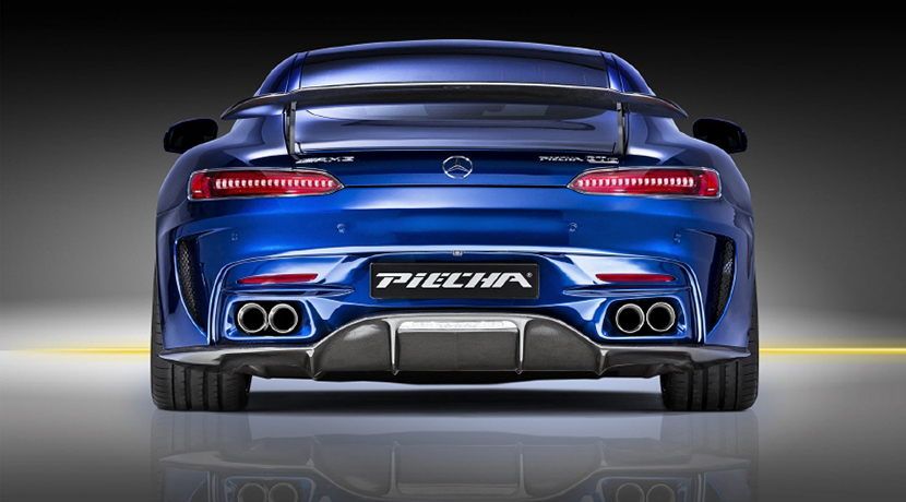 Mercedes-AMG GT S por Piecha Design: Fibra de carbono y 612 CV de potencia 6