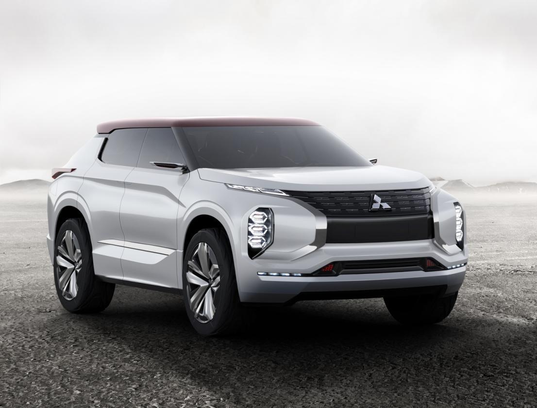 Mitsubishi GT-PHEV Concept: Un prototipo de SUV híbrido enchufable que veremos en el Salón de París 2