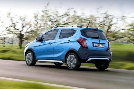Opel Karl Rocks: La versión campera también llega al pequeñín