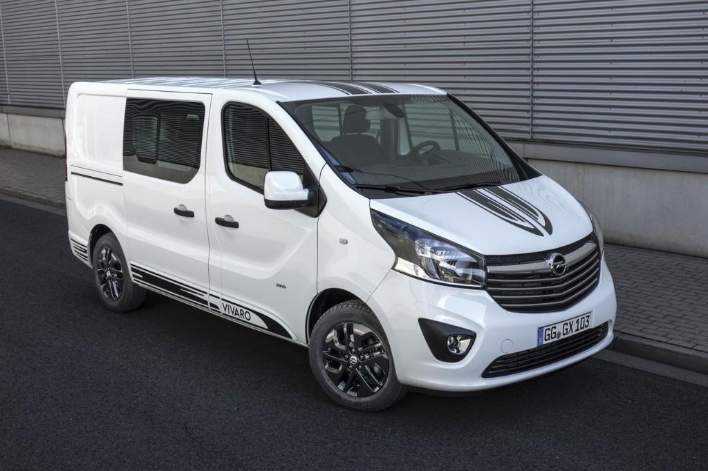 Opel Vivaro Sport: La fuegoneta con aires deportivos 2