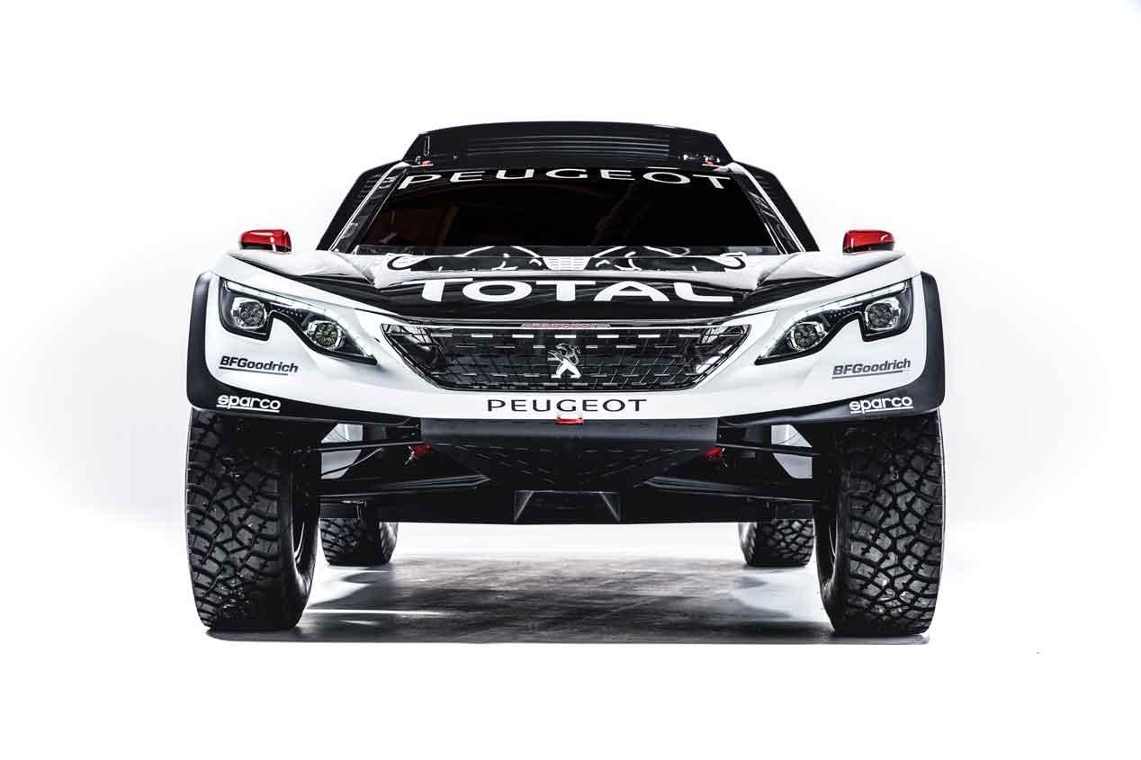 Peugeot 3008 DKR: Así es el cartucho de Sainz para el Dakar 2017 2