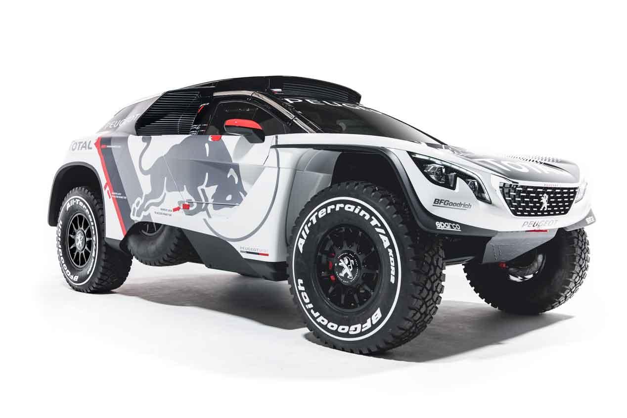 Peugeot 3008 DKR: Así es el cartucho de Sainz para el Dakar 2017 3