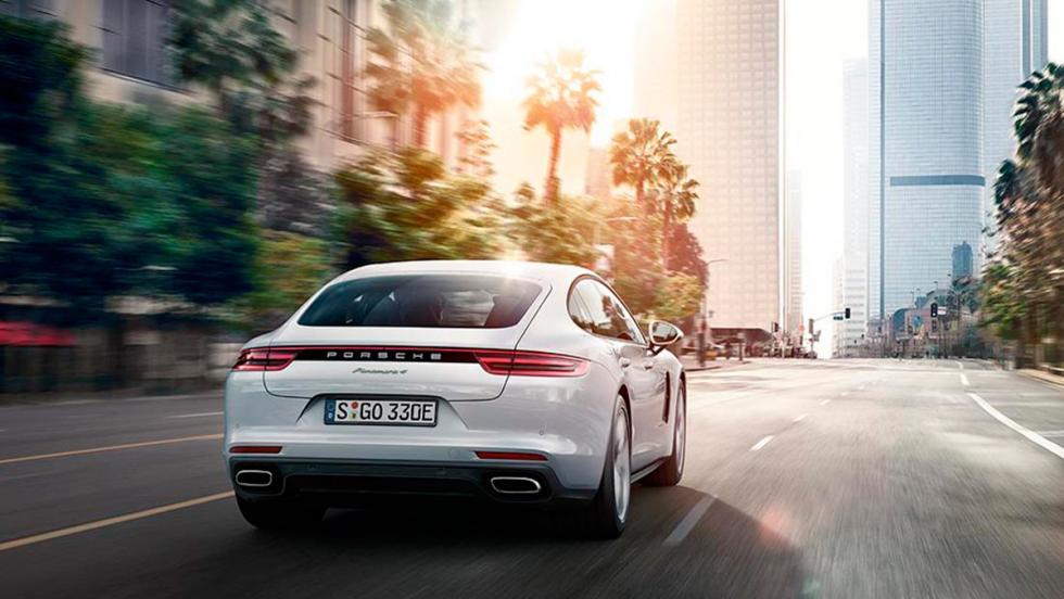 Porsche Panamera 4 E-Hybrid 2017: La versión híbrida que mejora las prestaciones del anterior 4