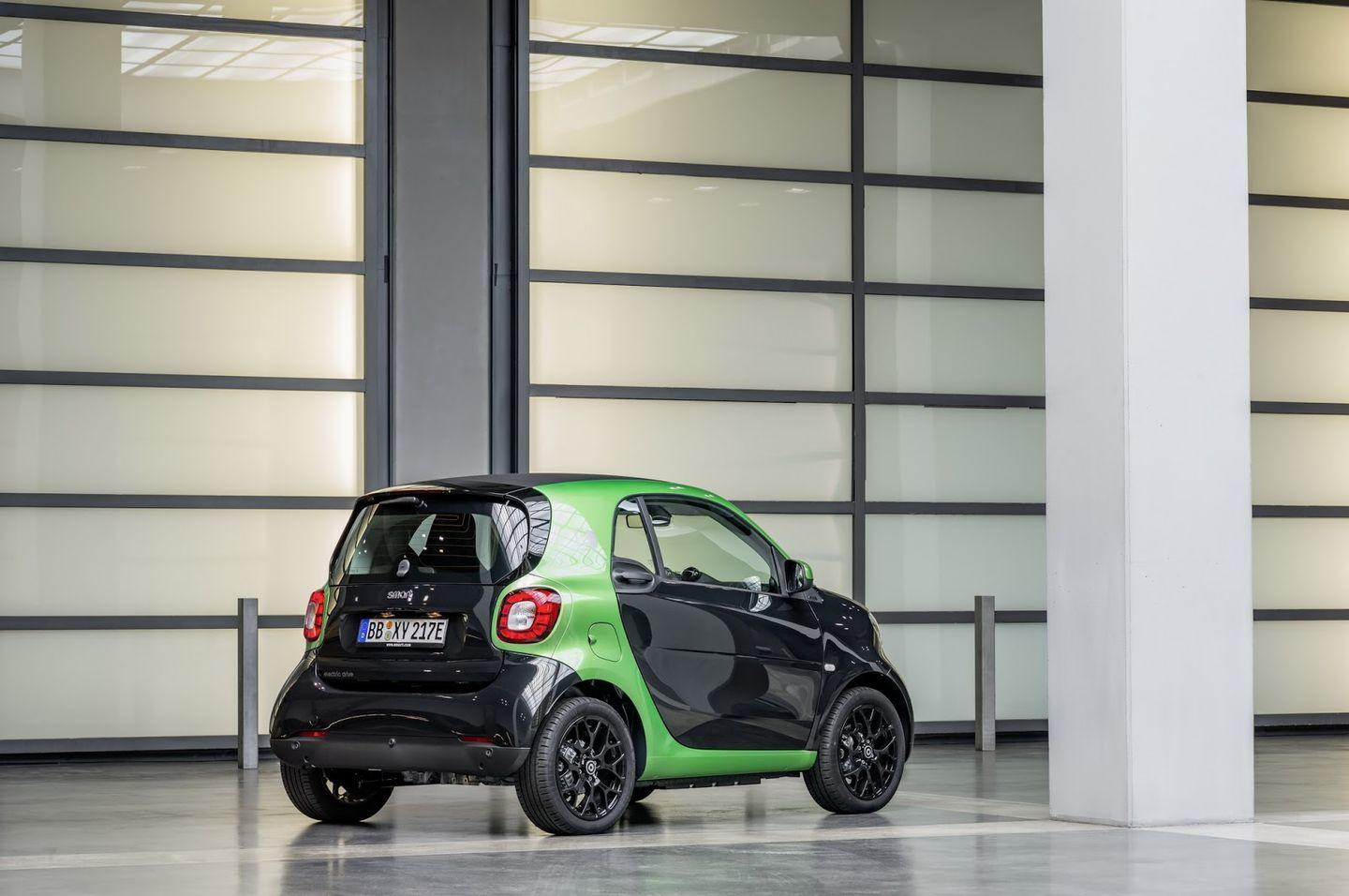 Smart Electric Drive 2017: La nueva gama eléctrica de Smart 29