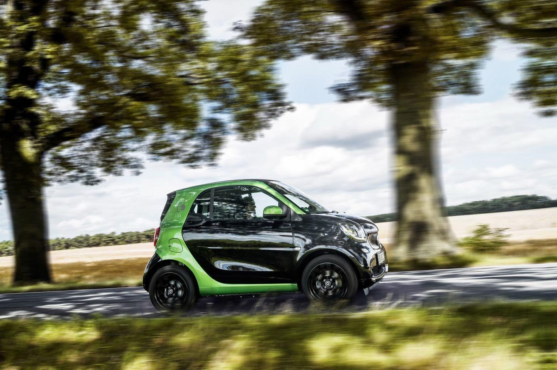 Smart Electric Drive 2017: La nueva gama eléctrica de Smart 40