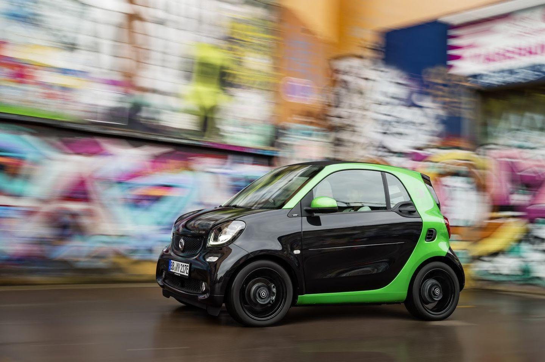 Smart Electric Drive 2017: La nueva gama eléctrica de Smart 53