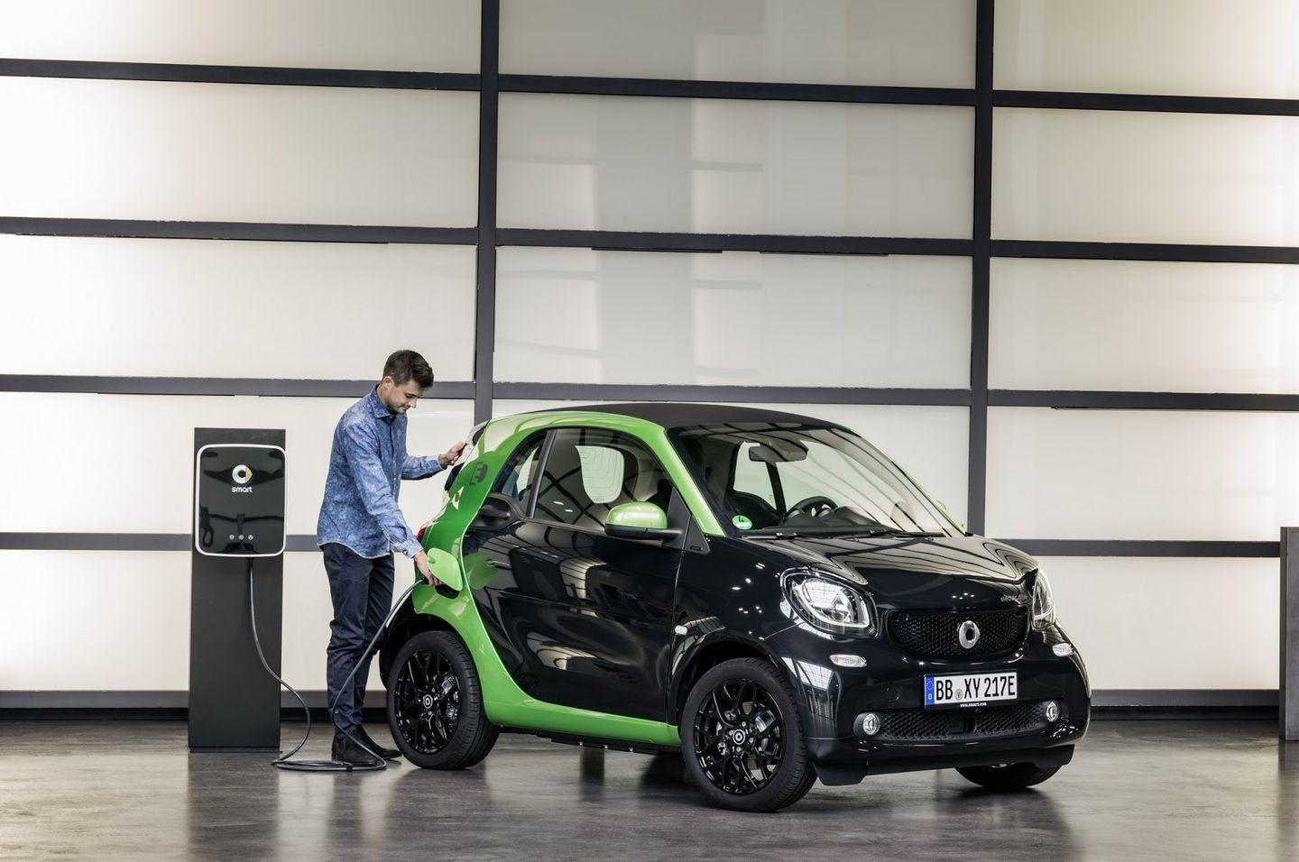 Smart Electric Drive 2017: La nueva gama eléctrica de Smart 54