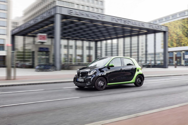Smart Electric Drive 2017: La nueva gama eléctrica de Smart 55