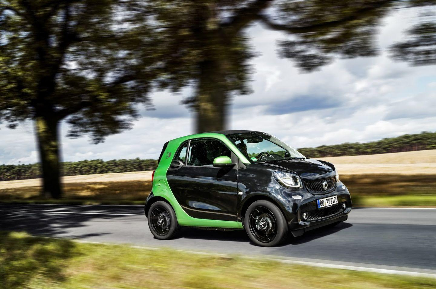 Smart Electric Drive 2017: La nueva gama eléctrica de Smart 56