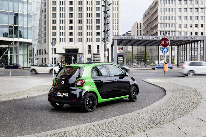 Smart Electric Drive 2017: La nueva gama eléctrica de Smart 63