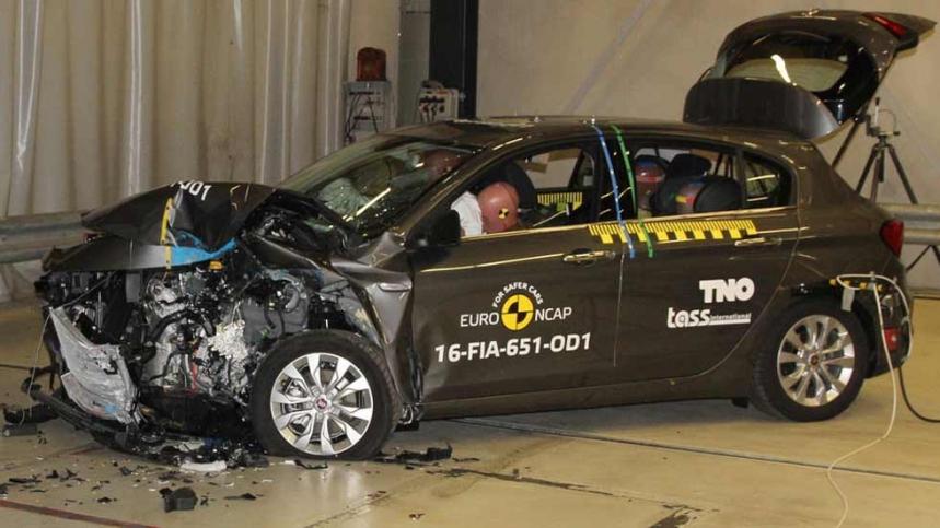 El Fiat Tipo se estrella en la EuroNCAP: Obtiene tres estrellas 1