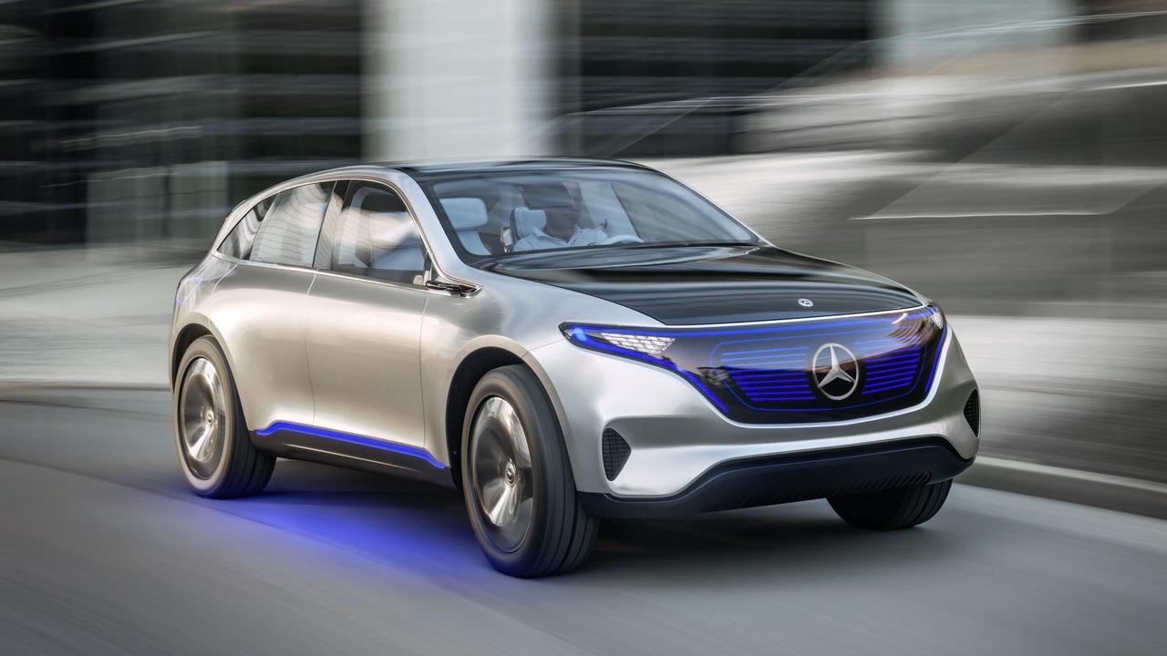 El Mercedes EQ dará vida al primer crossover eléctrico de la marca 2