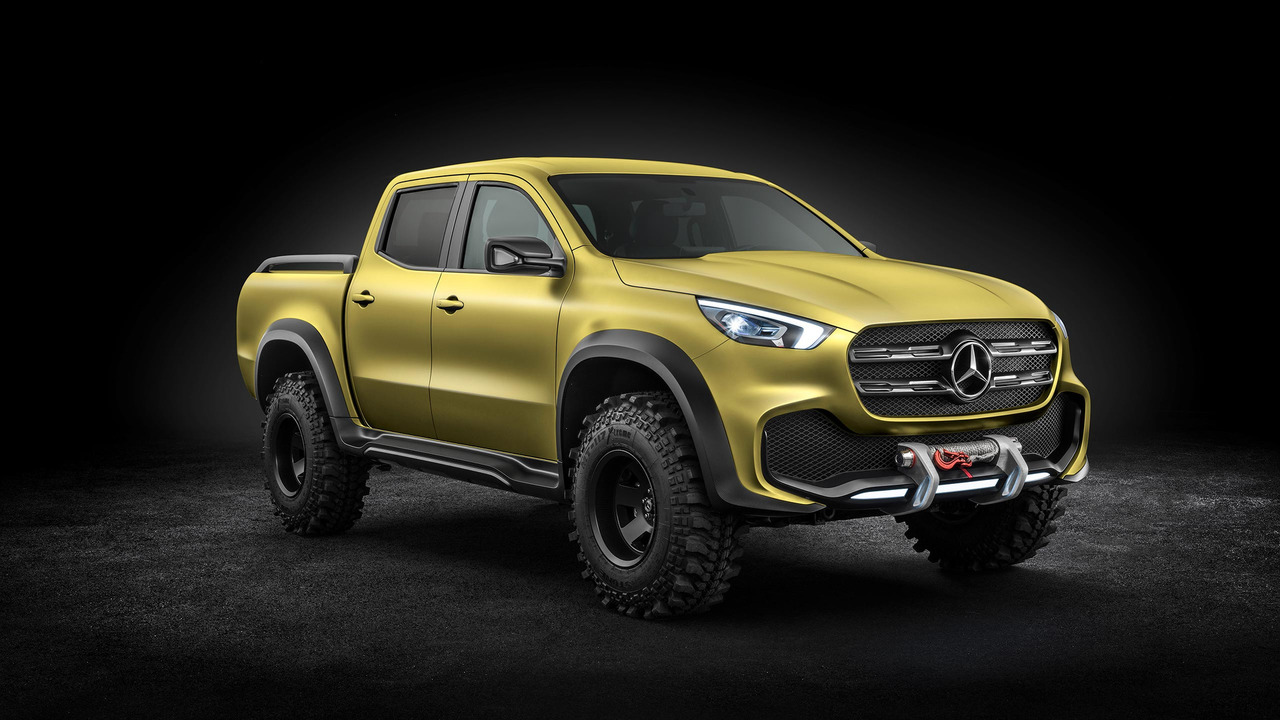 Mercedes Concept Clase X: llega el pick-up de la marca alemana 7