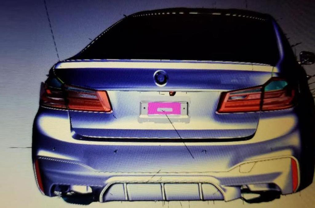 Nuevo BMW M5: se filtran bocetos que podrían ser oficiales 2