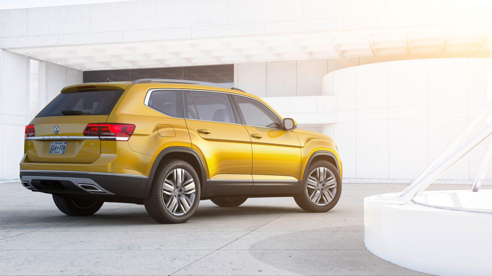 Oficial: Volkswagen Atlas, el gran todoterreno alemán 6