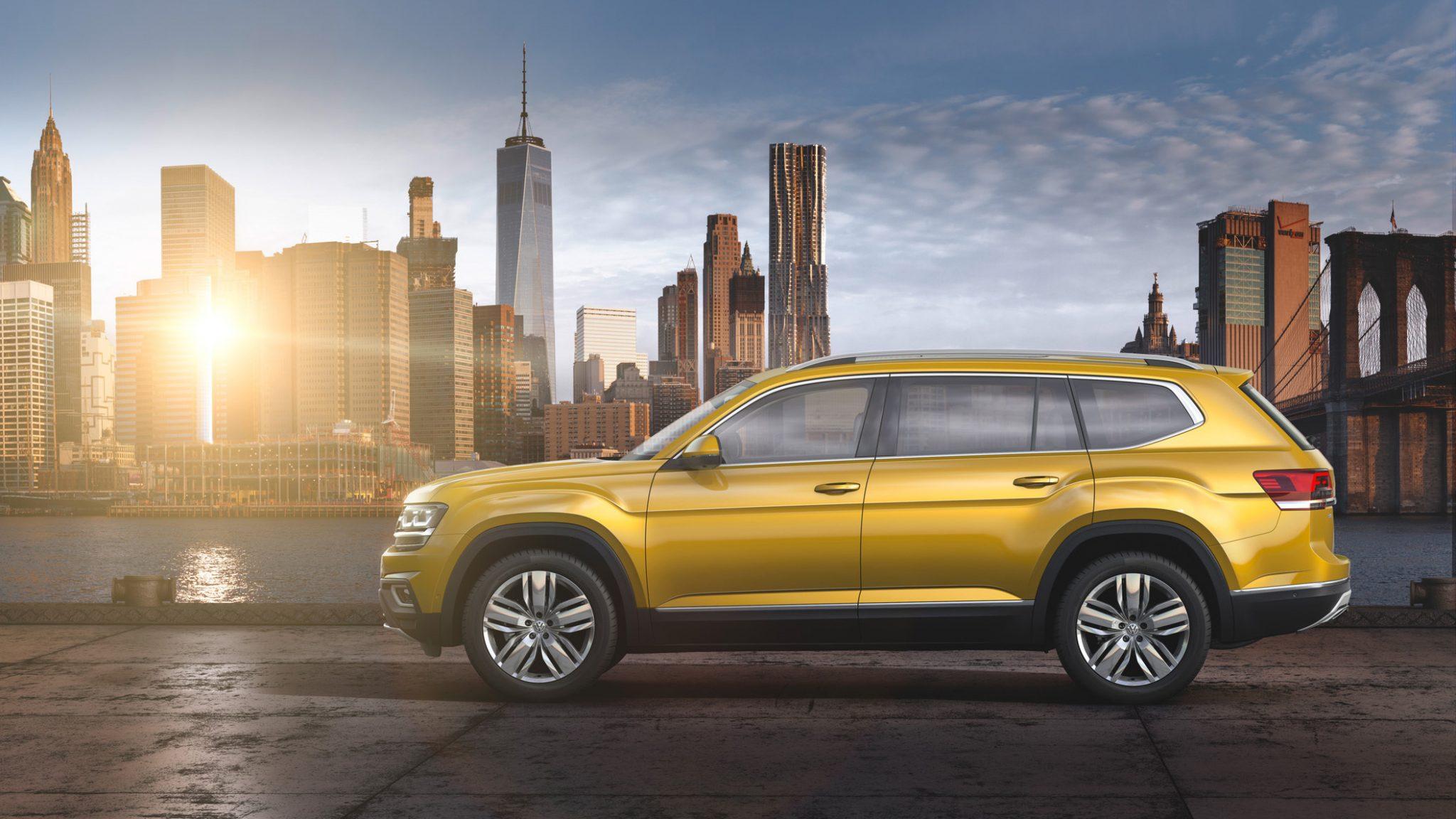 Oficial: Volkswagen Atlas, el gran todoterreno alemán 7