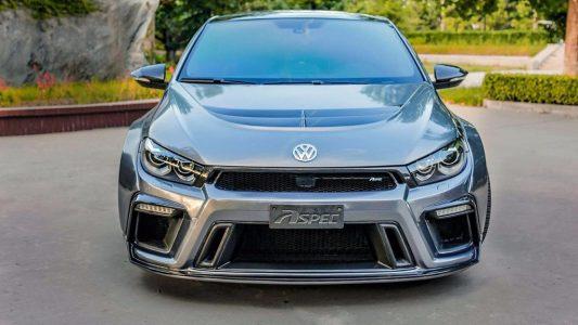 Volkswagen Scirocco R PPJ430 por Aspec: Una de las preparaciones más radicales
